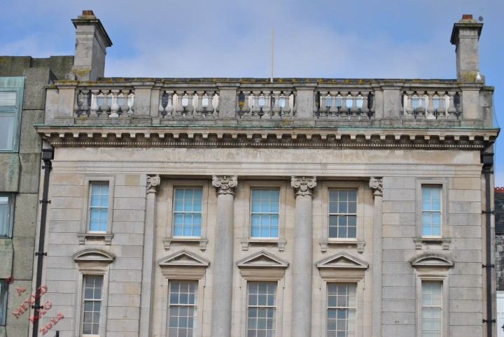 A pre-Victorian building that is now one of the major banks in the UK.