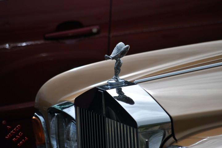 Rolls Royce angel
