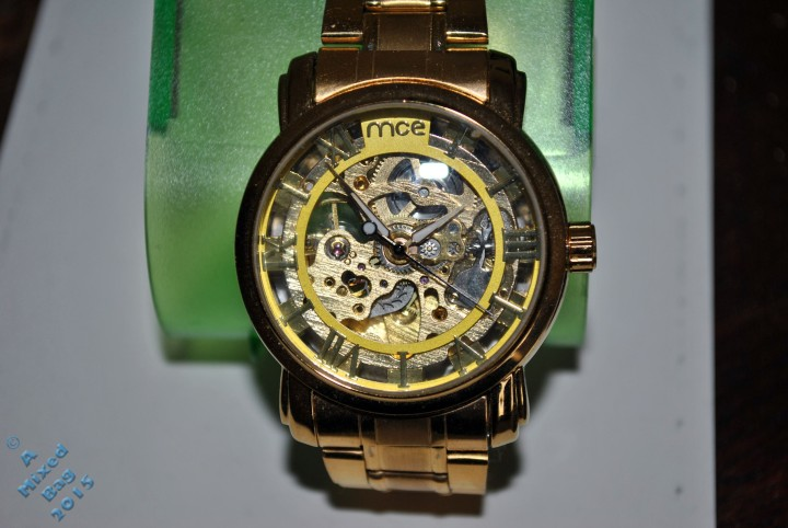 An intricate looking wristwatch