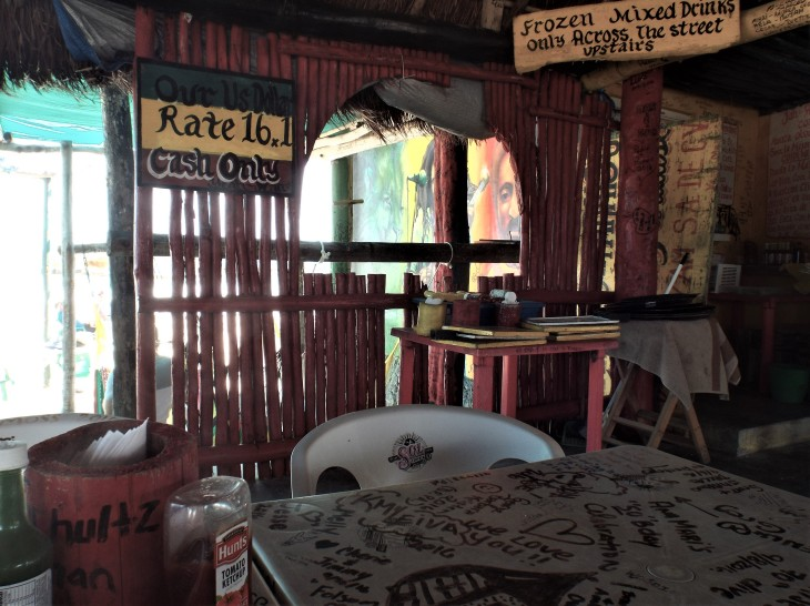 Bar in Mexico
